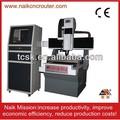 mini tavola mobile 6060 metalliche di precisione ad alta intaglio muffa macchina per incidere di cnc per alluminio di rame