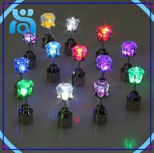 hot sell beautiful various color for option led flashing earing