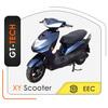 lead-acid/lithium battery 2 wheel electric motorcycle