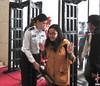 Easy-handle Aoyadi police equipment Portable Walk through metal detector