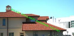 Roof Tile ,Metal Bulding Material, Sudan popular Stone coated metal roof tile .Africa Hot Sell