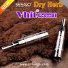 2014 best selling glass vaporizer SEEGO Vhit Reload II huge vapor electric herb grinder