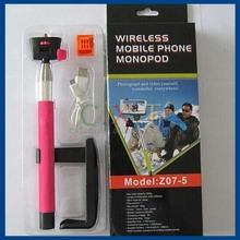 cell phone monopod, selfie camera tripod stand, bluetooth wireless adjustable monopod