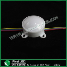 led pixel module,3pcs 5050 SMD with WS2801 IC;45mm diameter;DC12V input