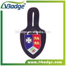 De haute qualité classique en cuir et métal porte-clés