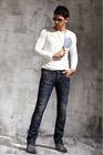 High quality 100%Cotton Denim Men Tapered Pants Jeans bulk wholesale men wholesale cheap jeans PM3011C
