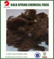 de grapa de poliester fibra de tela no tejida de material primas