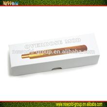 2014 hot items high quality large stock 100% original overdose mod with wholesale vaporizer pen