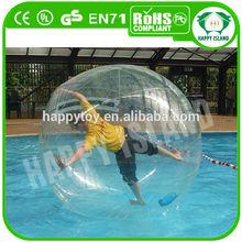 2013 HI Dia2m CE TPU hi bounce glitter water balls 100mm for sale