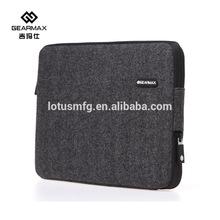 Fast Delivery Laptop Bags Black Felt Computer Liner Sleeve Tablet Cover Case For Macbook Pro