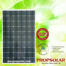 high watt power solar panel in high quality With CE,TUV,UL,MCS Certificates