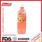 K-Houssy Aloe Vera cube inside Guava Juice