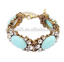 $1 around cheap fashion vintage antique gold bracelet,gps bracelet personal tracker