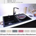 caldoin vendita su ordinazione superficie solida rustico lavelli da cucina prezzi