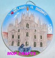 Ceramic souvenir plate