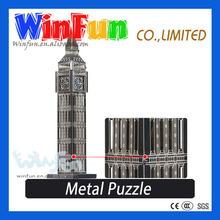 Big Ben Model Handheld Puzzle Game