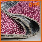 best seller high quality fleece waterproof comfort plastic outdoor rugs