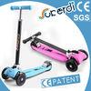 Patent kids 4 wheels foldable mini kick scooter