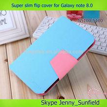 high qualtiy slim flip cover for samsung galaxy note 8.0 N5100