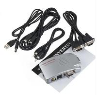 AV-521 AV To VGA Video Converter support 800 * 600 (60 & 75 Hz)