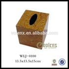 Professional wooden tissue box design