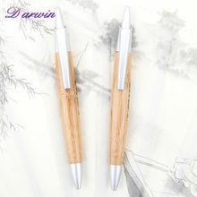 Ecological promotional pen eco-friendly wood ballpoint pen