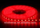 108leds/m red led strip 3m adhesive black pcb