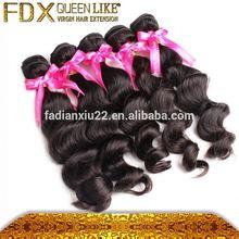 Pure black wavy European hair natural beauty supply wholesale