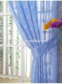 100% poliestere pezzo finestra della cucina tende