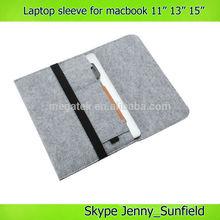 "Wool felt soft laptop sleeve for macbook air 11"" 13"" ,for macbook case"