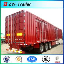 cargo van semi trailer, animals transportation trailer,cargo van for sale