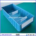 industrielle boîte de rangement en plastique avec séparateurs pour vis
