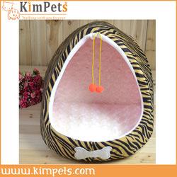 Leopard L shape Pet dog Bed House
