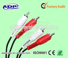 2 RCA to 2 RCA cable VGA RCA transfer audio signal