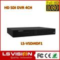 Ls visión 4 canal cctv h. 264 dvr kit de la tela del cliente
