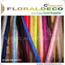 Fabric Bridal Silk Touch Organza Fabric For Organza Bag
