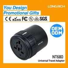 Worldwide travel adapter excellent electrics,popular video female speaker adapter plug