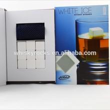 Hot Sale Ceramic Ice Cube Whisky Vodka Beer Red Wine Ice Wine Stone White Ice Rocks