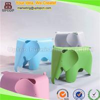 Fancy elephant cartoon plastic chair for children (SP-UC482)