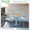 JIALIFU super fireproof inlaid table top plastic folding picnic table