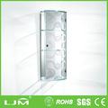 premium anti scratch vidros quatro portas de armário para casa