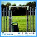 Novo design lança topo esgrima quente venda de portões de ferro forjado/cerca de privacidade/portão de metal cerca