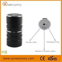 Riversunny From original factory e shisha 2200mah rechargeable Kelvin H6 shisha+tabak