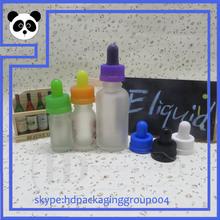 hot sell e cig oil glass dropper bottle 30ml milk white