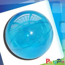 2014 Hot Sale Children Hollow Rubber Ball Novelty Games Bouncing Clear Plastic Balls