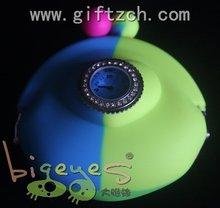 Rainbow Silicone coin purse bags with diamond watch head