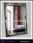 wood ornate picture frame vintage mirror frame
