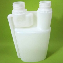 HDPE Material White Double Neck Plastic Bottle 3 liter for Wine