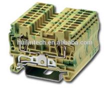 Grounding terminal block AK1.5-PE Dinkle din rail connectors