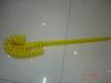 heavy duty brush with plastic long handle #2110